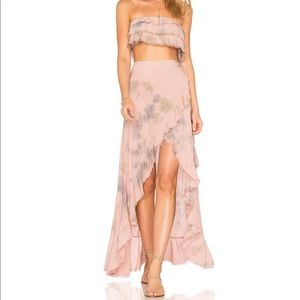 Blue Life Aura Wrap Skirt Rebel & top